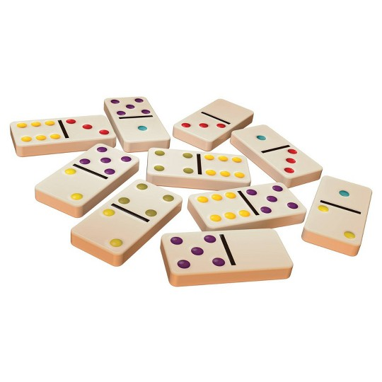 Game Gallery Double 6 Color Dot Dominoes image number null