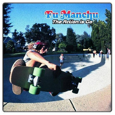 Fu Manchu - The Action Is Go! (Green & Blue Vinyl  D