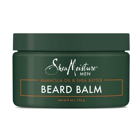 Shea Moisture Beard Balm for a Full Beard Maracuja Oil & Shea Butter to Soften and Shine Beards - 4oz - image 1 of 4
