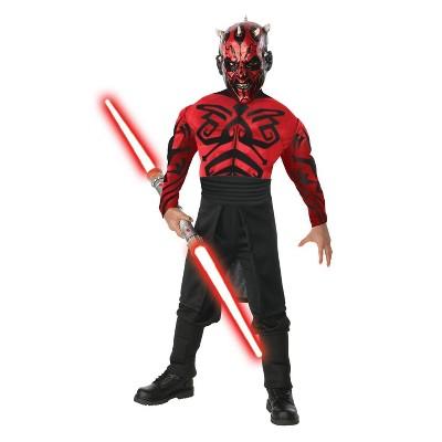 Adult Star Wars Darth Maul Muscle Halloween Costume