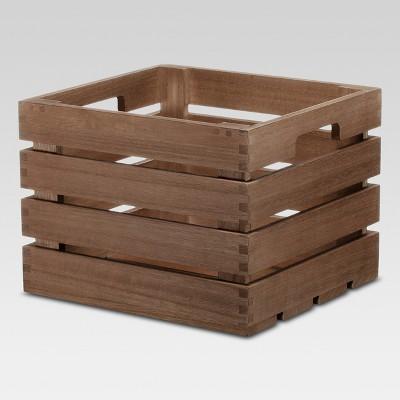 Cube Storage Basket Brown 10 x11 x8  - Threshold™