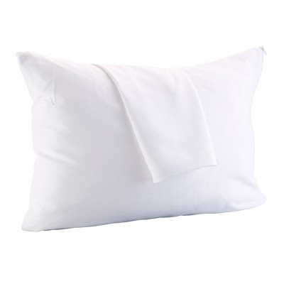 Great Bay Home 4 Pack Allergy Free Microfiber Pillow Protector