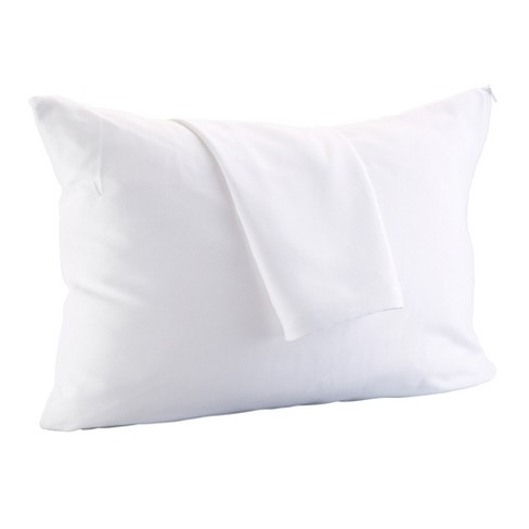 Great Bay Home 8 Pack Allergy Free Microfiber Pillow Protector - image 1 of 4