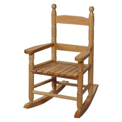 Gift Mark Slat Rocking Chair - Natural