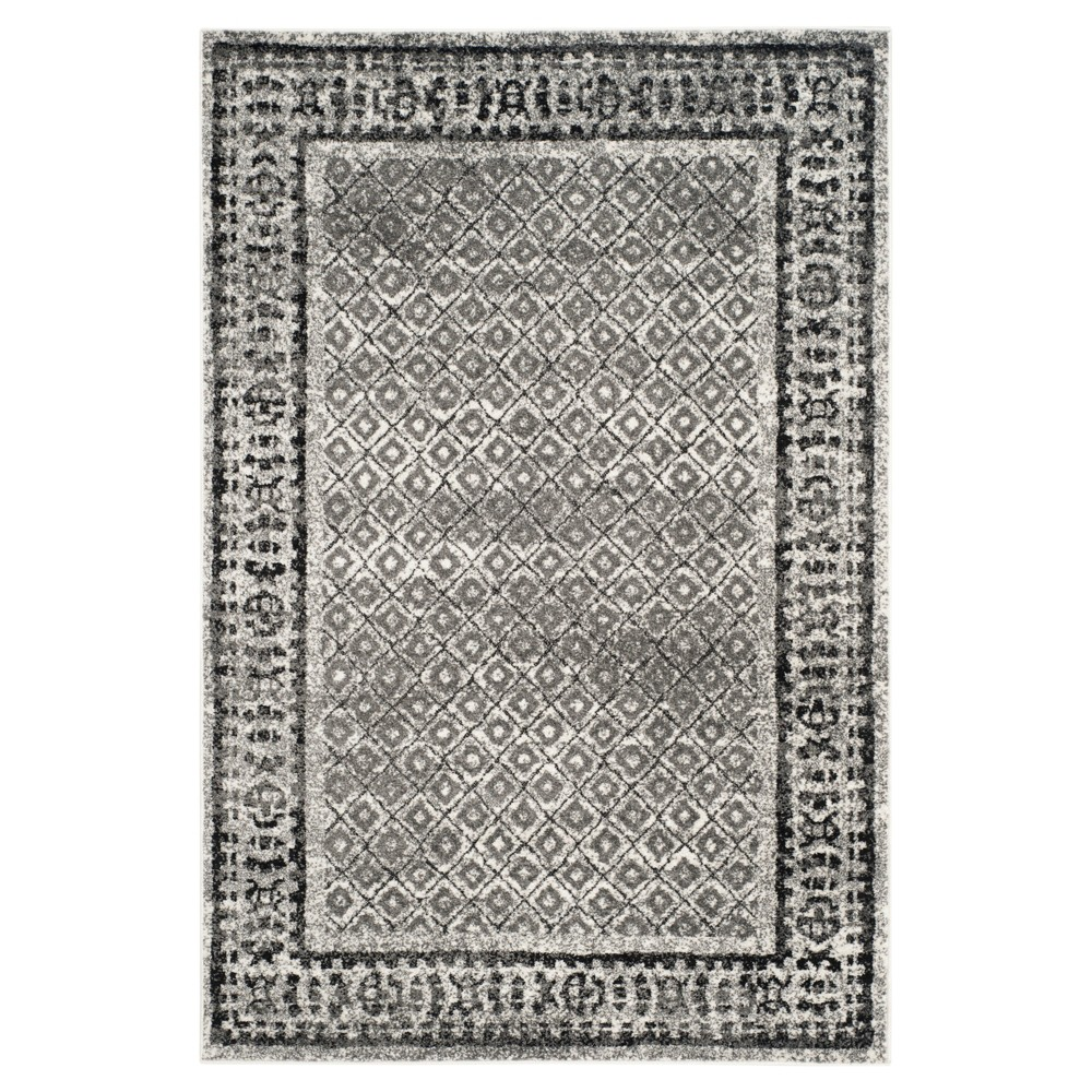 Remi Area Rug - Ivory/Silver (5'1