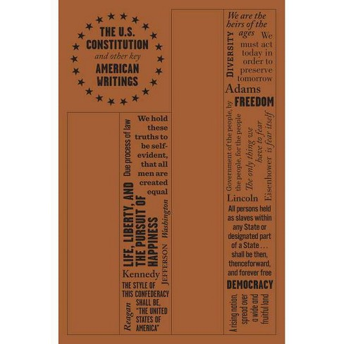 The U.S. Constitution and Other Key American Writings - (Word Cloud Classics) by  The American Founding Fathers (Paperback) - image 1 of 1