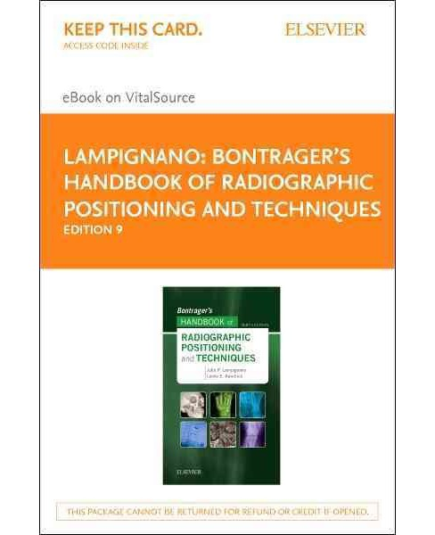 Bontrager's Handbook of Radiographic Positioning and Techniques eBook on VitalSource Access Code - image 1 of 1
