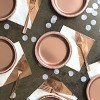 "8.5"" 20ct Disposable Dinner Plates Rose Gold - Spritz™ - image 2 of 2"