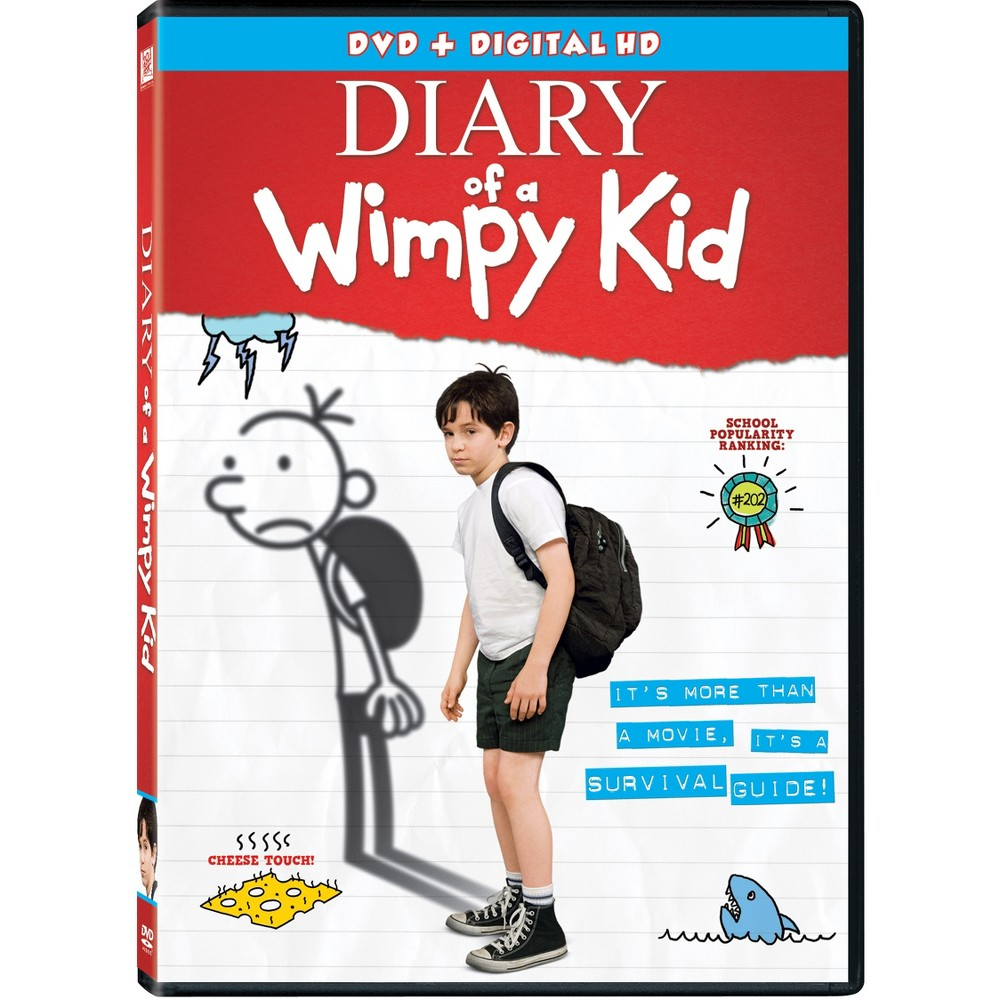 Diary Of A Wimpy Kid Dvd