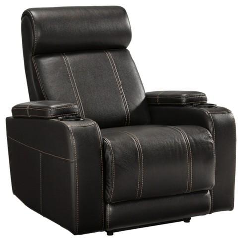 Marvelous Boyband Power Recliner Black Signature Design By Ashley Machost Co Dining Chair Design Ideas Machostcouk