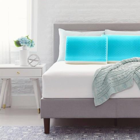 Contour Bubble Gel Memory Foam Bed Pillow - Comfort Revolution - image 1 of 4