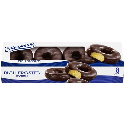 Entenmann's Rich Frosted Donuts - 1lbs
