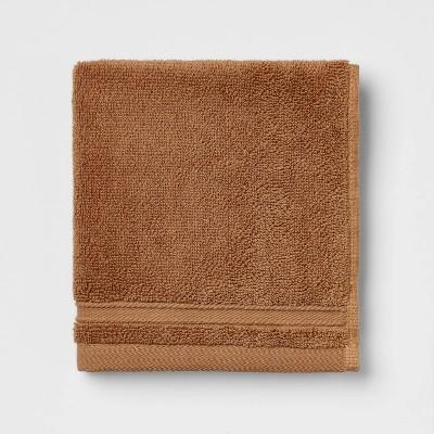 Performance Washcloth Brown - Threshold™
