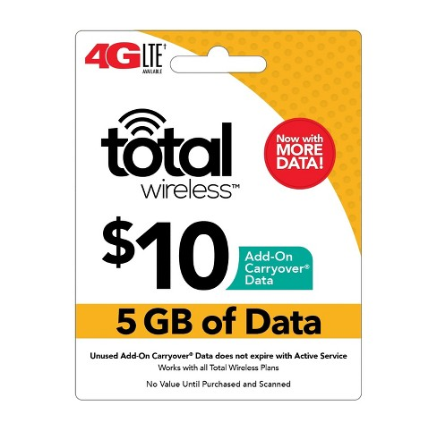 Total Wireless Data Card $10 (Email Delivery) - image 1 of 1