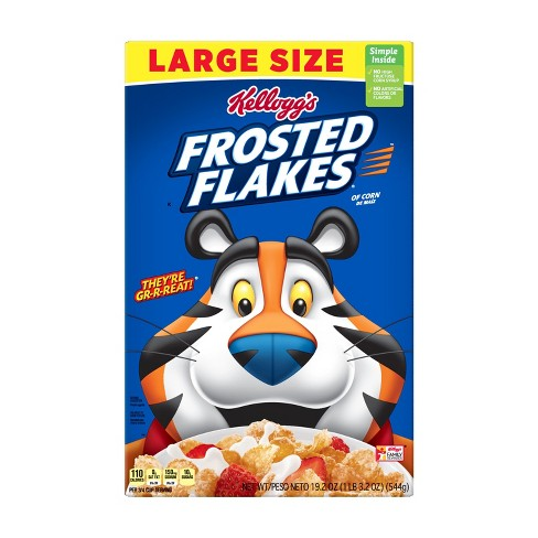 Frosted Flakes Breakfast Cereal - 19.2oz - Kellogg's - image 1 of 4