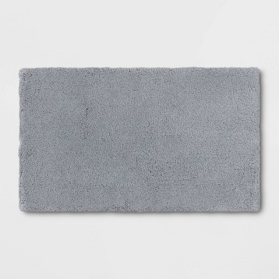 "24""x40"" Bath Rug Light Gray - Threshold Signature™"