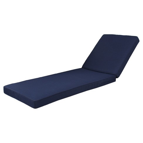 Rolston Outdoor Navy Chaise Lounge Cushion - Threshold™ - image 1 of 1