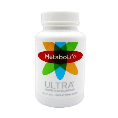 MetaboLife Ultra Advanced Weight Loss Formula Dietary Supplement Caplets - 45ct