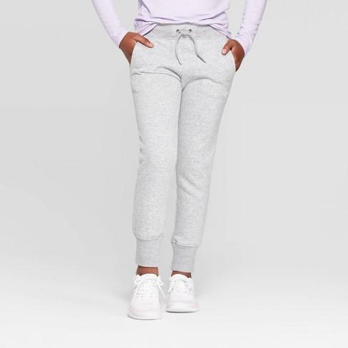 Umbro Girls' Fleece Jogger Pants - image 1 of 3