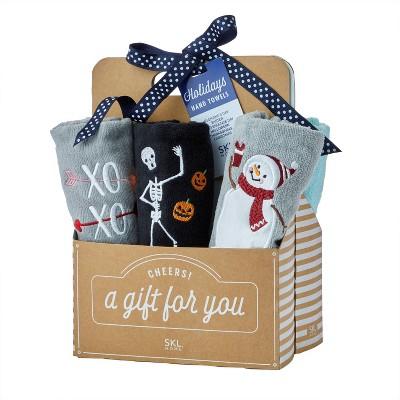 6pk Holidays Hand Towel Gift Set - SKL Home