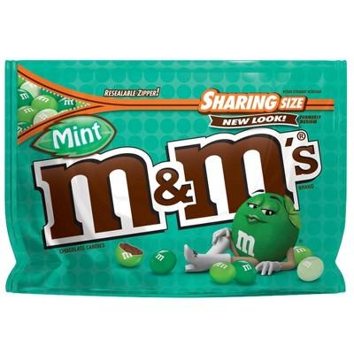 Chocolate Candies: M&M's Mint Dark Chocolate