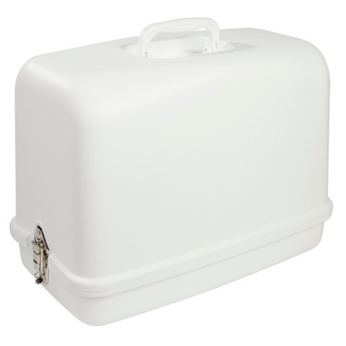 19095b8608 Singer Sewing Case With Built-in Handle White   Target