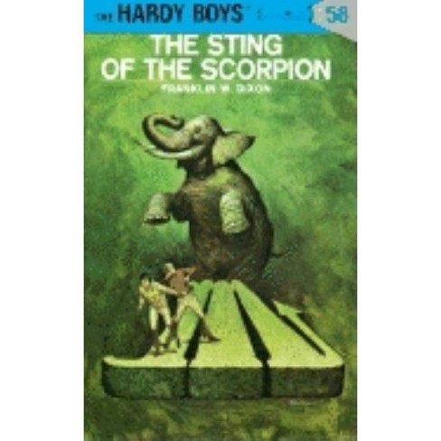 Hardy Boys 58: The Sting of the Scorpion - by  Franklin W Dixon (Hardcover) - image 1 of 1