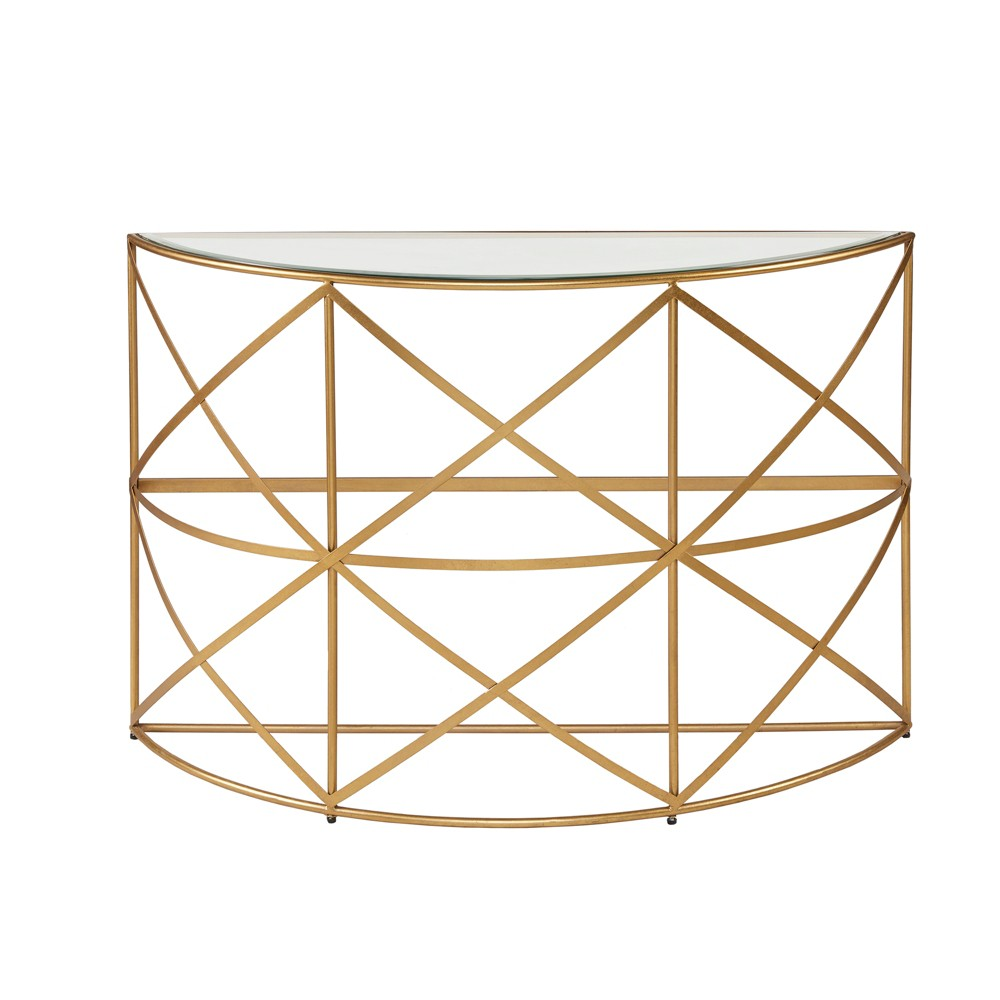 Rue Console Table Gold, Console Tables