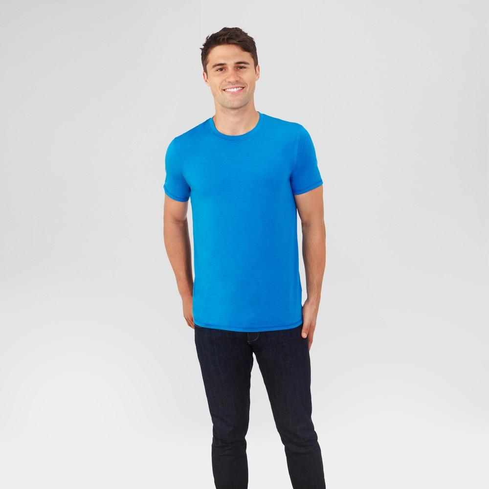 Fruit of the Loom Select Men's Everlight Short Sleeve T-Shirt - Columbia Blue 2XL, Light Blue