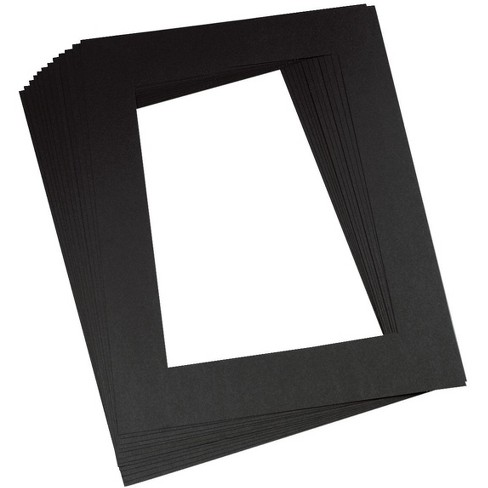 Pacon Pre-Cut Mat Frames, 12 x 18 Inches, Black, pk of 12 - image 1 of 1