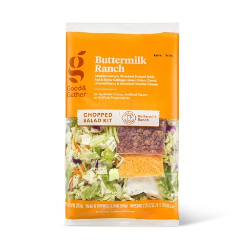 Buttermilk Ranch Chopped Salad Kit - 12.8oz - Good & Gather™ - image 1 of 4