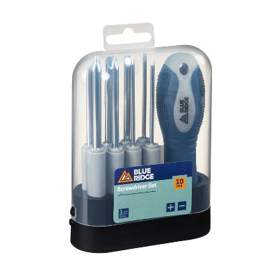 Blue Ridge Tools 10pc Screwdriver Set