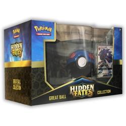 2019 Pokemon Trading Card Game Pokeball Hidden Fates GX Box featuring Zoroark GX