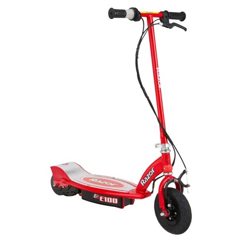 Razor E100 Electric Scooter - Red - image 1 of 4