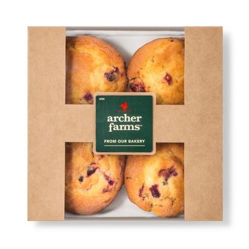 Cranberry Orange Muffins 4ct - Archer Farms™ - image 1 of 1