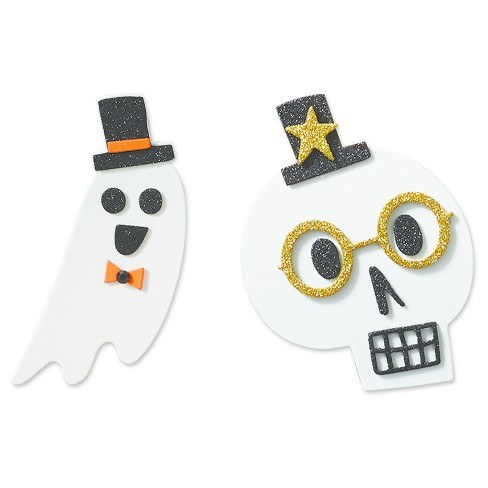 Halloween Ghosts and Skulls Craft Kit (makes 20) - Hyde and Eek! Boutique™ - image 1 of 2
