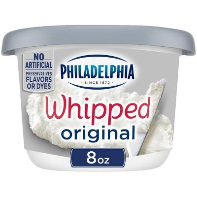 Philadelphia Whipped Cream Cheese Tub - 8oz