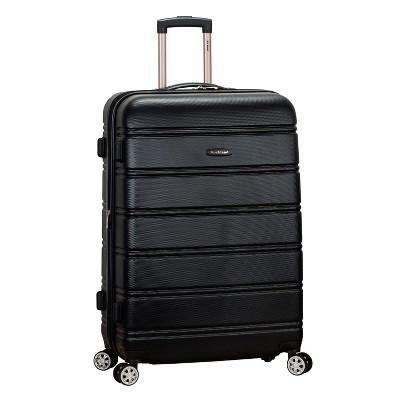 Rockland Melbourne 28  Expandable Hardside Spinner Suitcase - Black