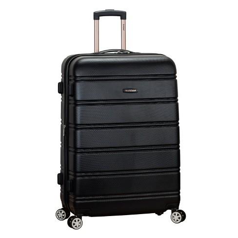 "Rockland Melbourne 28"" Expandable Hardside Spinner Suitcase - Black - image 1 of 4"