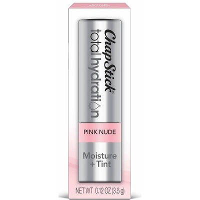 Chapstick Total Hydration Moisture and Tint - Pink Nude - 0.12oz