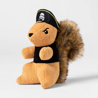 Plush Pirate Squirrel Dog Toy - Hyde & EEK! Boutique™