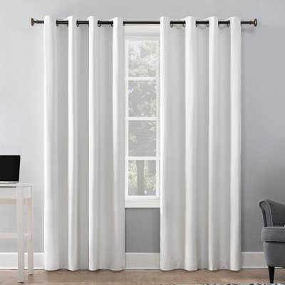 Duran Thermal Insulated 100% Blackout Grommet Curtain Panel - Sun Zero