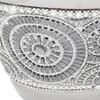 "Dahlia Studios Silver 10"" High Ceramic Decorative Jar with Lid - image 3 of 4"