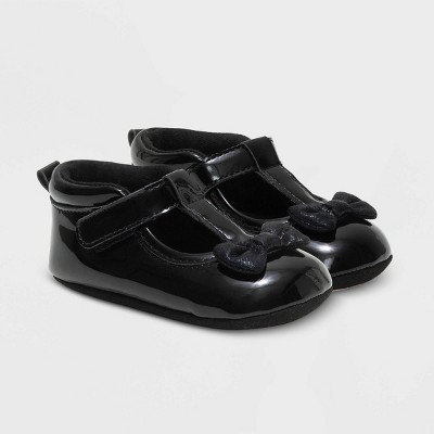 Baby Girls' Ro+Me by Robeez Sneakers with Bow - Black