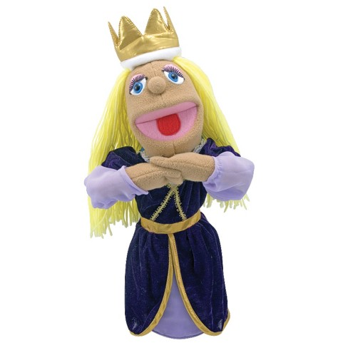 Melissa & Doug® Royal Princess Puppet With Detachable Wooden Rod for Animated Gestures - image 1 of 1