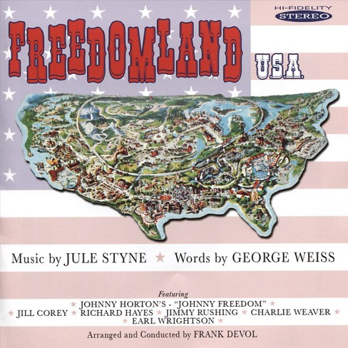 Various - Freedomland usa (CD) - image 1 of 1