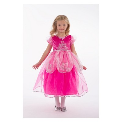 Little Adventures Child's Deluxe Pink Princess Dress