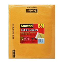 "Scotch™ Bubble Mailer, 8.5"" x 11"", 6PK"