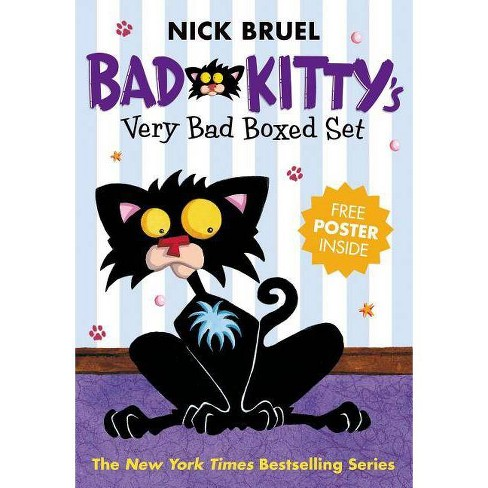 Bad Kitty's Very Bad Boxed Set (#1) - by  Nick Bruel (Mixed media product) - image 1 of 1