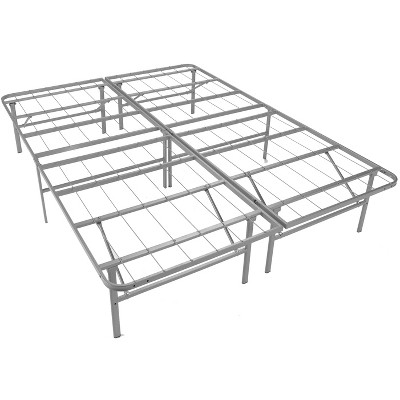 Glenwillow Home EZ-Fold Platform Bed Frame, Foldable, Under-Bed Storage, No Tools Required, Supports 2000+ lbs